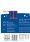 6 Multi C-Si Solar Cell TSM63TN