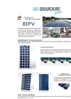 BIPV - Buinding Integrated PV solutions