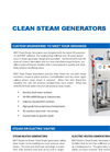 Clean Steam Generators Brochure