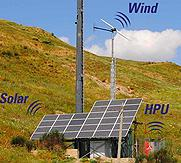 Hybrid DC Generators - Solar and Wind Off Grid Power System