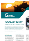 Miniflash Touch - - Flash Point Tester Datasheet