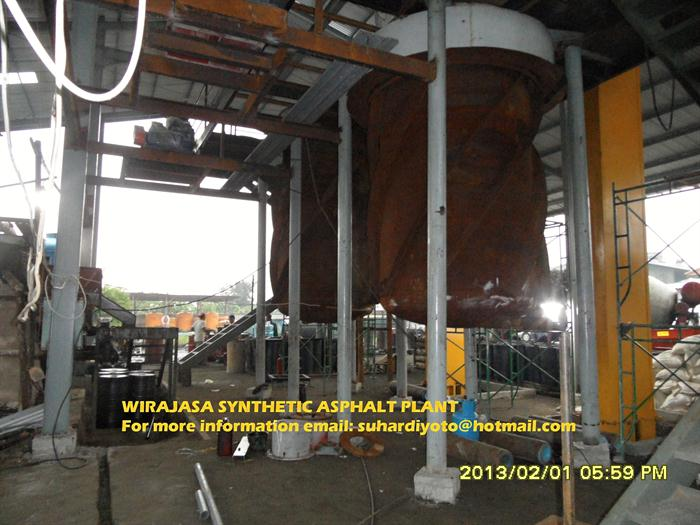 Construction of Synthetic Asphalt Production Plant