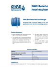 GWE Borehole Heat Exchanger- Brochure