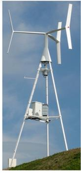 ANew - Model S1 - Small Vertical Wind Turbine