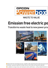 Opcon Powerbox - Organic Rankine Cycle (ORC) System Brochure