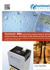 Model BMA - Bioenergy Wood Chip Moisture Meter Brochure