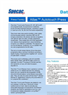 Specac Atlas Series Autotouch Hydraulic Press - 8, 15, 25 and 40 Ton - Brochure
