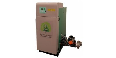 BIOKOMPAKT - Model ECO 15 P - Automatically-fed Wood Pellet Boiler to 25 kW