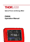 PM200 - Touch Screen Handheld Optical Power And Energy Meter Manual