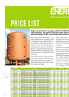 Large-Sized Buffer Storage Tank Brochure