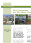 FERC Hydropower Licensing and Compliance Management Brochure