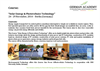 "Course:   ""Solar Energy & Photovoltaics Technology"" 24– 29 November, 2014 – Berlin (Germany)"