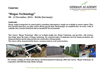 "Course:   ""Biogas Technology"" 08– 13 December, 2014 – Berlin (Germany)"