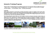 "Intensive Training Program:   ""Innovative Technological and Management Concepts for Renewable Energy"" 24 November – 13 December, 2014 – Berlin (Germany)"