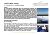 Course `Wind Energy` in Kassel-Germany - 2-7 Feb 2015 Brochure