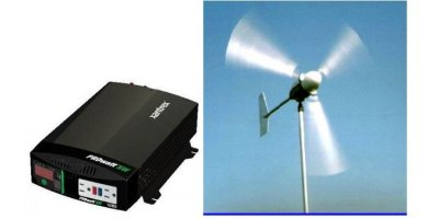 Basic  - Model 1000 Watt - Off Grid Solar / Wind Power Station