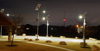 Commercial Solar LED Park Lighting