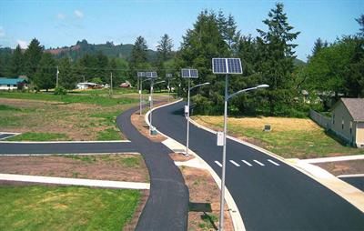 Outdoor solar lighting solutions for Street lighting
