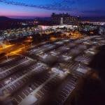 Palomar hospital - Solar parking lot lighting - Case study