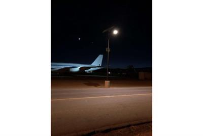 Mojave air and space port - Commercial solar lighting - Case study