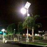 CBRE/Siemens - Solar parking lot lighting - Case study