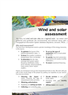 Wind and Solar Assessment Brochure