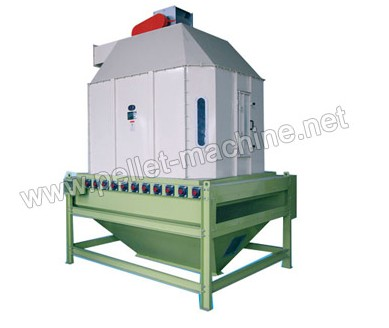 Allance Pellet Machinery - Pendulum Counter-flow Cooler by Allance