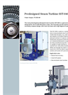 Steam Turbines SST- 040- Brochure
