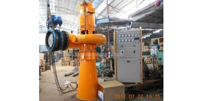 Model (30KW-100KW) - Volute Axial Flow small hydro Water Turbine Generator