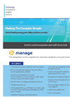 Manage - End-to-End Contract Generation and Customer Management Software - Datasheet