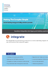 Integrate - Seamless Integration Into Legacy and Existing Systems - Datasheet