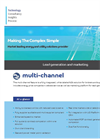 Multi-Channel - Lead Generation and Marketing Software - Datasheet