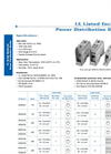 IEC Enclosed Listed Power Distribution Blocks- Brochure