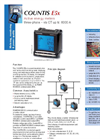 Countis E5x - - Active Energy Meters Three-Phase Datasheet