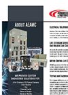 Advanced Electrical and Motor Controls Company Profile Brochure