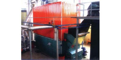 Garioni Naval - Model Biomassa TH/CP - Solid Fuel and Biomass Steam Boilers
