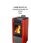 GreenEcoTherm - PS 9 Pony - Wood Pellets Stove - Manual