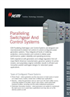 Paralleling Switchgear and Control Systems  Brochure