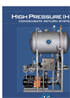 Industrial Steam - Model HPR - High Pressure Condensate Return - Brochure