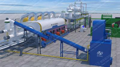 Henan-Doing - Continuous Process Manufacturing Pyrolysis Plant