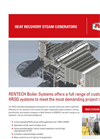 Rentech - - Heat Recovery Steam Generators (HRSG) Brochure