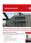 Rentech - - Waste Heat Recovery Boilers Systems Brochure
