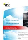 ASC-6M-60-3BB Series Mono-Crystalline Photovoltaic Modules Brochure
