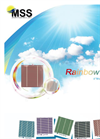 Rainbow Cell 6 Multicrystalline Solar Cell Brochure