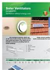Ventilador Solar Domestic Brochure