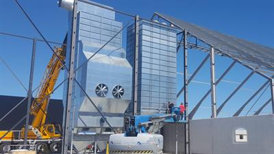 Tornum - Model HRC - Continuous Heat Recovery Grain Dryer