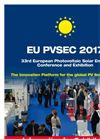 EUPVSEC2017 Information For Exhibitors - Brochure