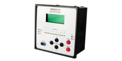 Elgama Sistemos - Model REEKS 5.0 - Reactive Power Compensation System