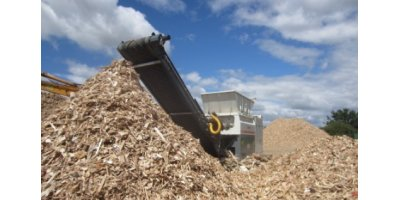 Waste shredding for the biomass industry