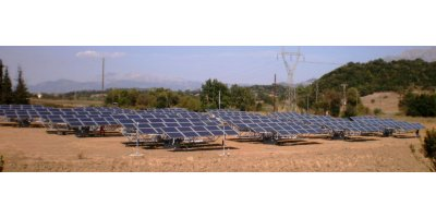 1-Axis Solar Tracker for Photovoltaic Plants